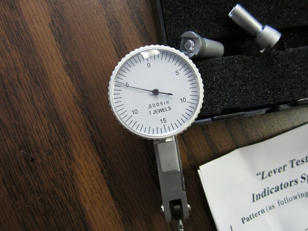 Dial Indicator Accessories : Quot dial test indicator with pcs accessories