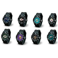 Kyпить Men's Black watch Spirit - NFL - * Pick Your Team * на еВаy.соm