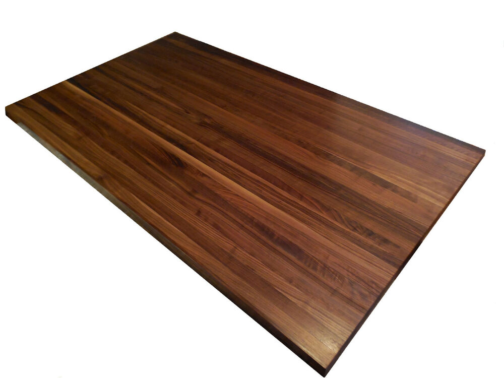 Armani Fine Woodworking Walnut Butcher Block Countertop | eBay