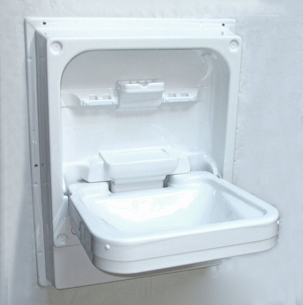 Cleo Tip Up Sink Caravan Motorhome Campervan Horsebox Boat White 310071 Ebay