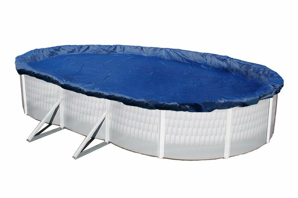 Winter Pool Cover Above Ground 16x28 Ft Oval Arctic Armor 15 Yr Warranty Ebay