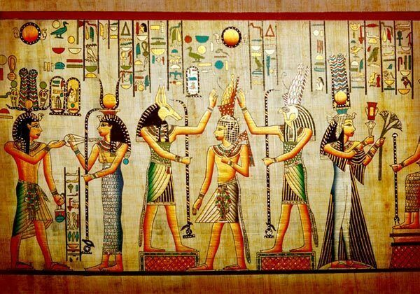 Ancient egyptian history art 3d full wall mural photo for Egyptian mural art
