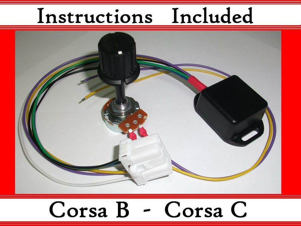 corsa b c kit electric power steering controller box with ecu plug epas ebay. Black Bedroom Furniture Sets. Home Design Ideas
