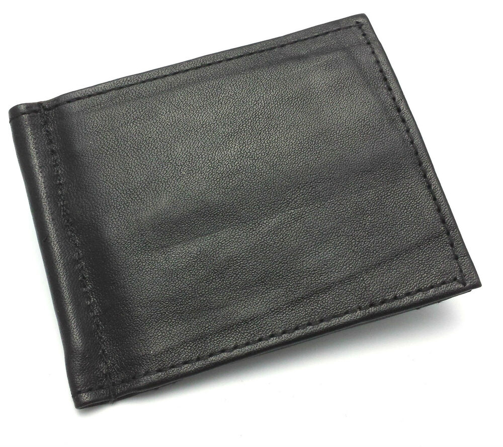 Slim Credit Card Wallet With Money Clip Confederated