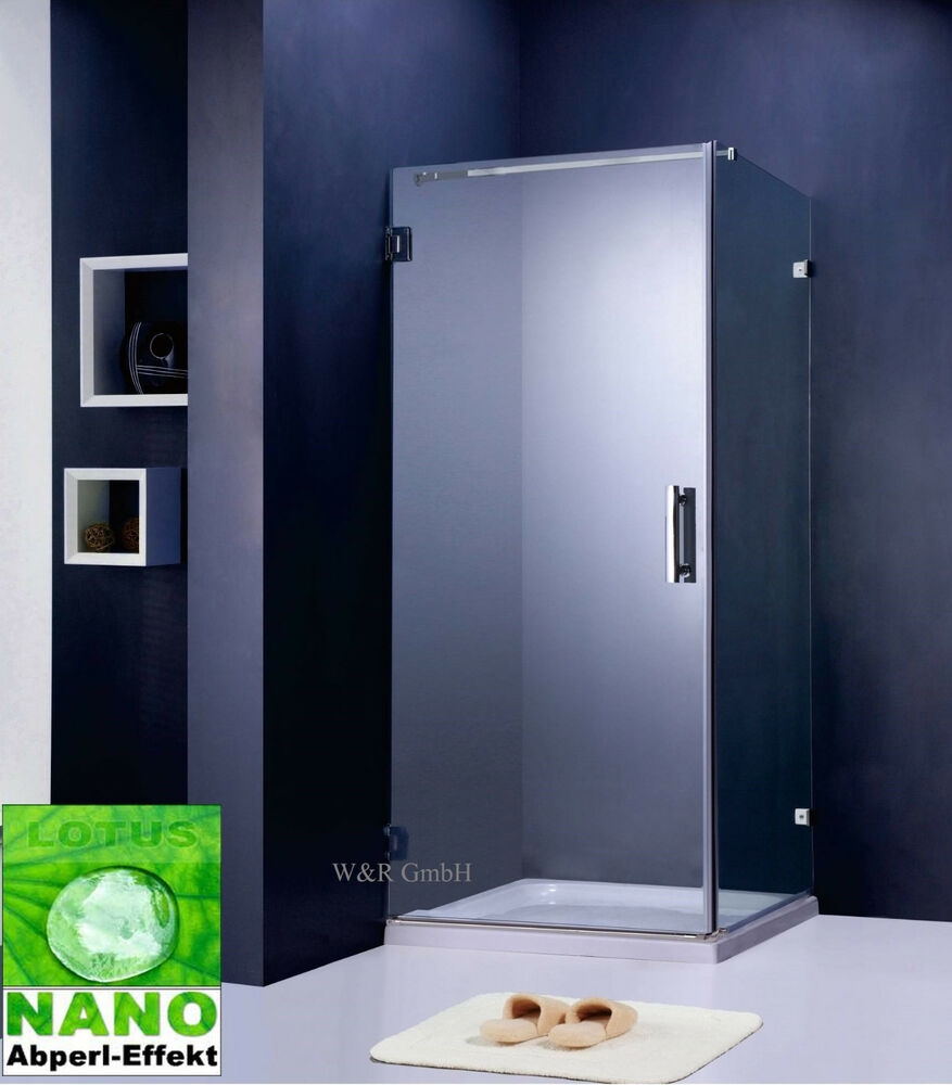 duschkabine dusche duschabtrennung 8 mm glas duschwand bad kabine k80 ebay. Black Bedroom Furniture Sets. Home Design Ideas