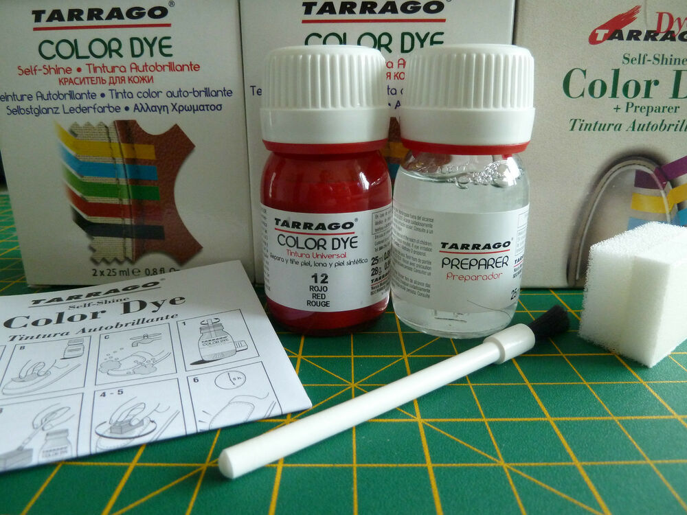 tarrago shoe dye kit for smooth leather no1 to no 59 ebay