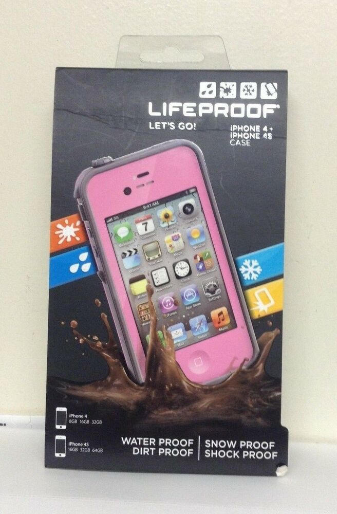 iphone 4s cases lifeproof new oem lifeproof waterproof for iphone 4 amp 4s 8073
