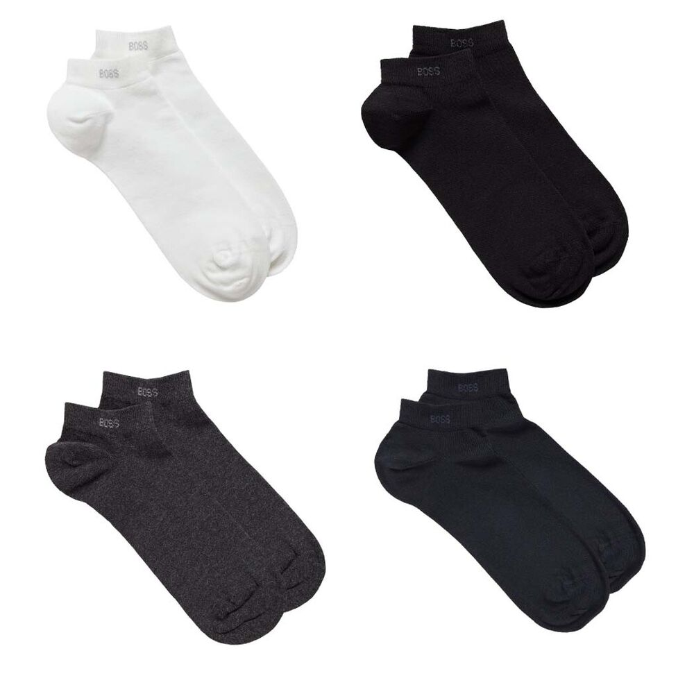 hugo boss 6 pack herren sneaker socken 39 42 43 46 uni baumwolle mit elasthan ebay. Black Bedroom Furniture Sets. Home Design Ideas