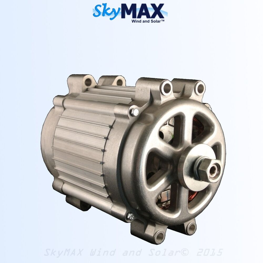 Details About 48 Volt Freedom Ii Pmg Permanent Magnet Alternator Generator 4 Wind Turbine