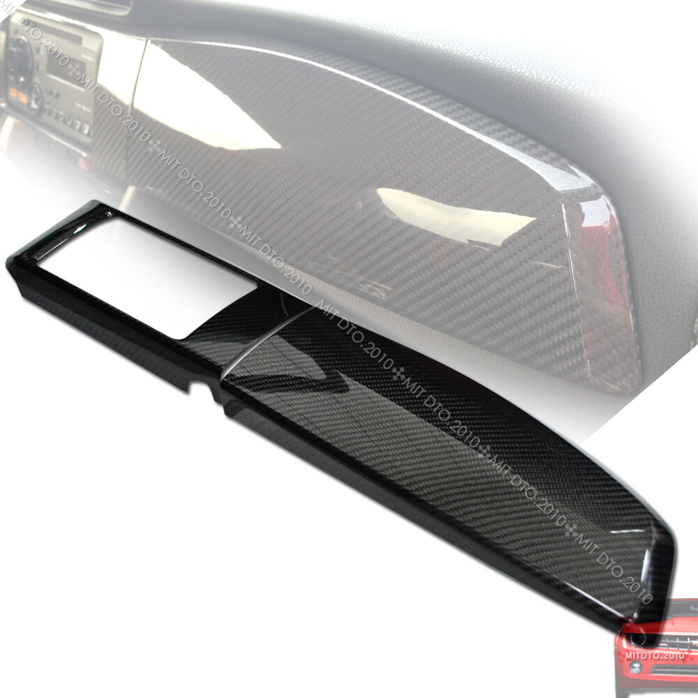 Carbon Fiber For Scion Frs Subaru Brz Gt86 Toyota Dashboard Radio Panel Cover Ebay