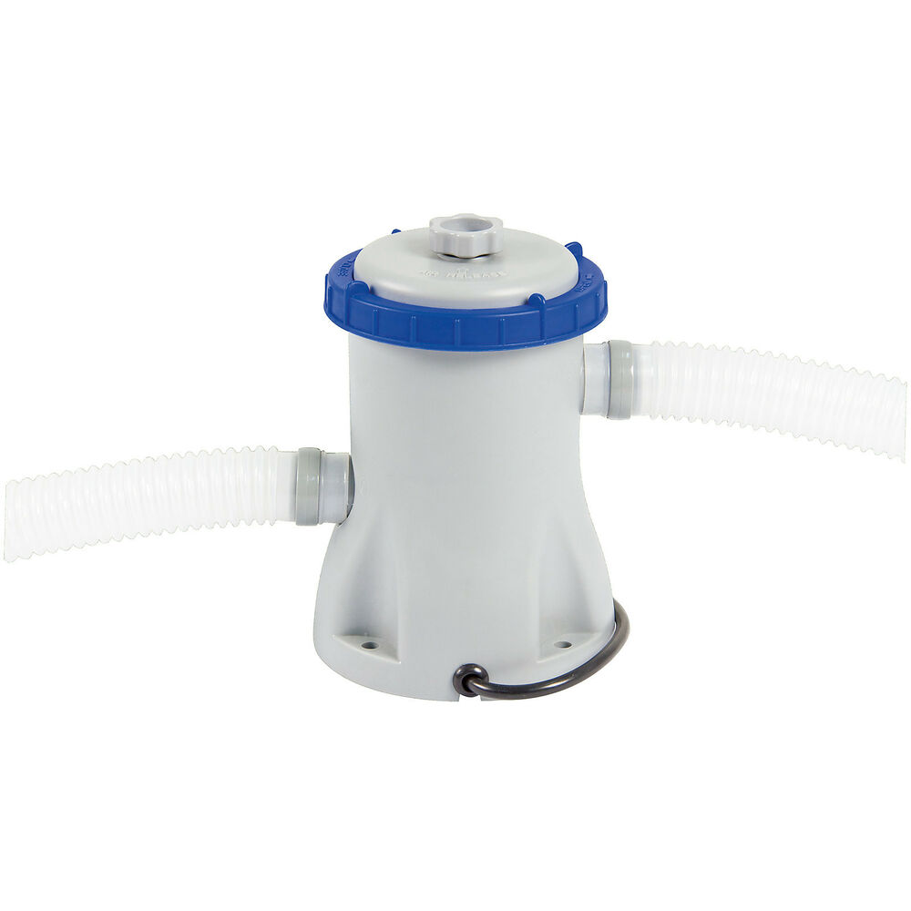 Bestway 800 gal h 3028l h swimming pool filter pump and for Paddling pool filter