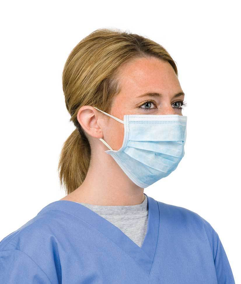 50 DISPOSABLE SURGICAL EARLOOP FACE SALON DUST CLEANING
