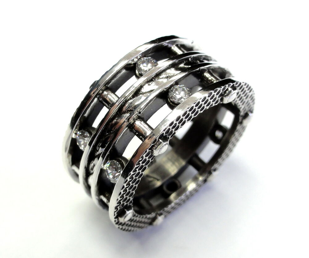 s designer silver eternity rope ring by sacred