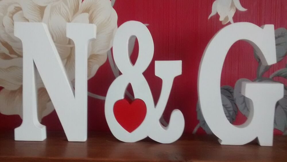 Large wooden letters with sign wooden numbers ebay for Ebay wooden letters