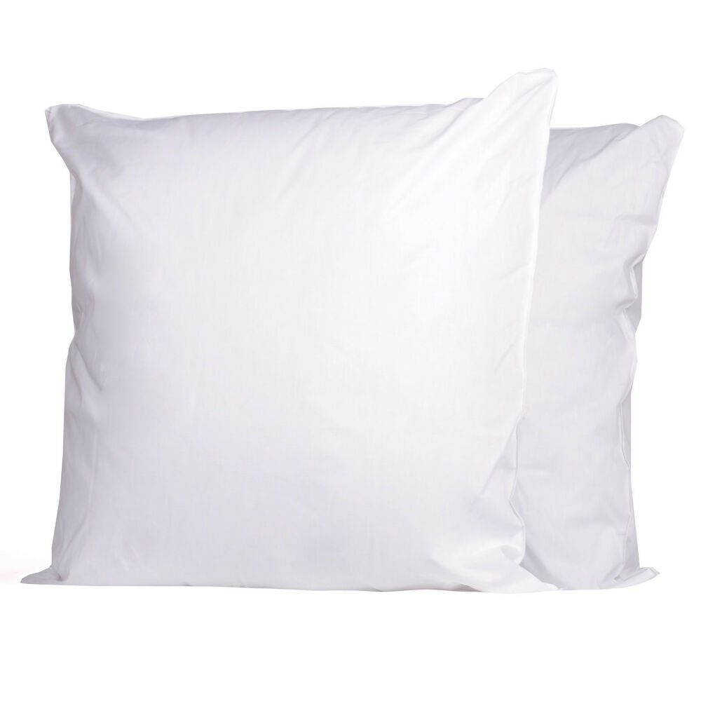 2 pack square euro microfiber poly fiber fill pillow for 26 inch square pillow insert