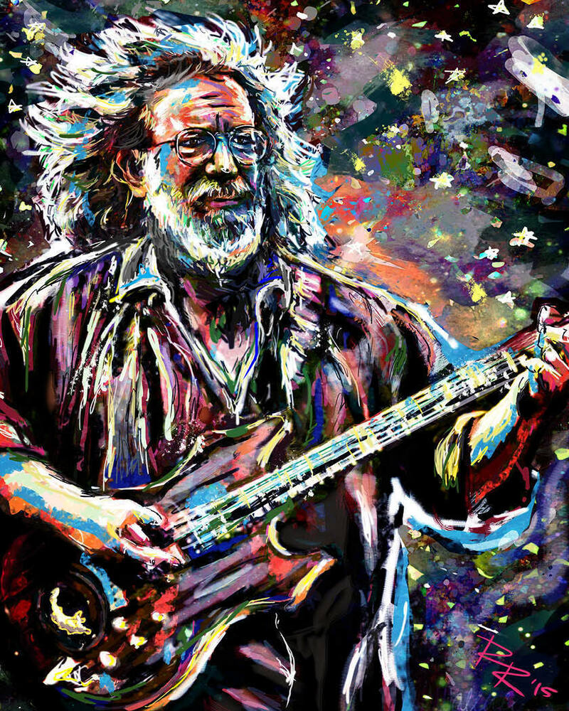 Grateful Dead Videos : jerry garcia art grateful dead print gd poster the dead original art ebay ~ Russianpoet.info Haus und Dekorationen