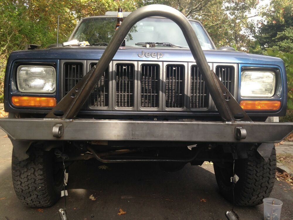 1984 2001 jeep cherokee xj comanche stinger front bumper ebay. Cars Review. Best American Auto & Cars Review