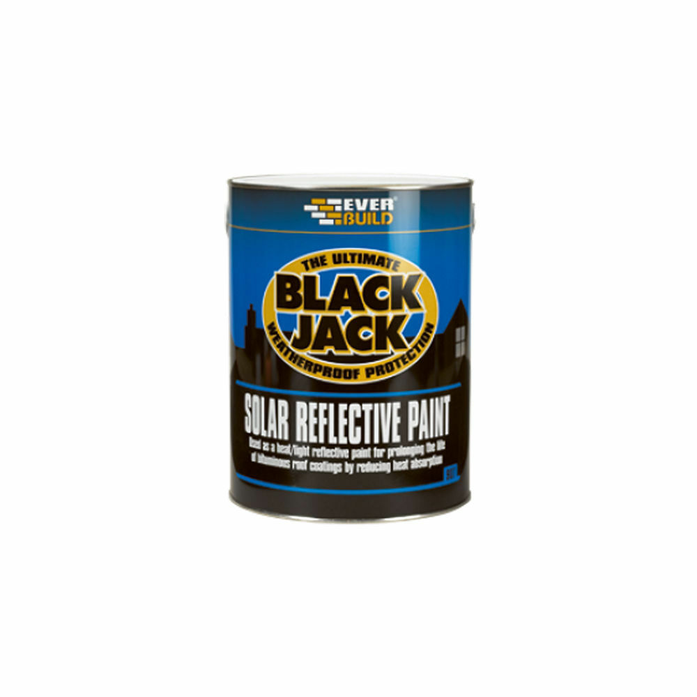 Everbuild 907 Solar Reflective Paint 25l Bitumen Roof