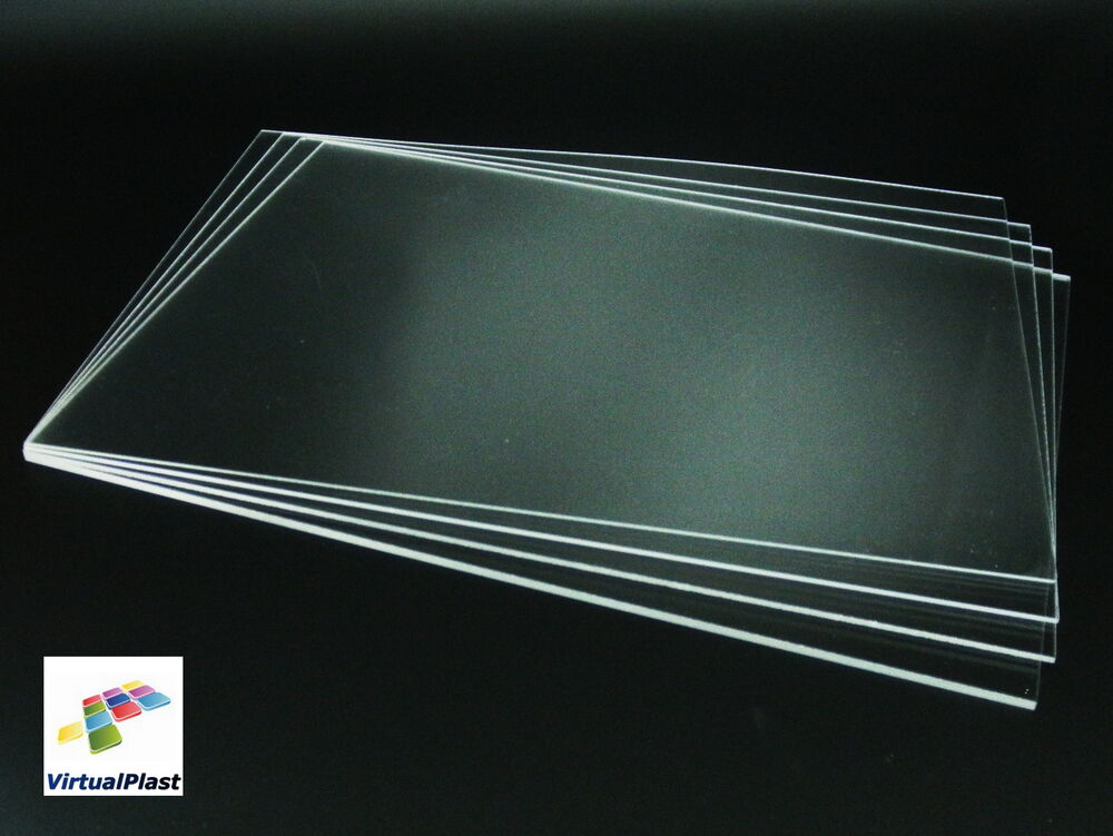 1mm 1 5mm 2mm 3mm 4mm clear acrylic sheet a4 21cm x 30cm transparent perspex ebay. Black Bedroom Furniture Sets. Home Design Ideas