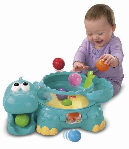 Fisher Price Baby Toddler Toys Musical Dinosaur Ball ...