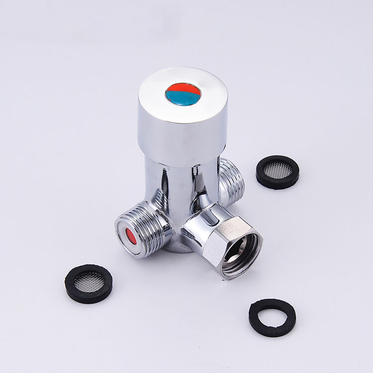 Freuer Faucets Temperature Mixing Valve For Touchless: Automatic Sensor Faucet Hot & Cold Water Temperature Mixer