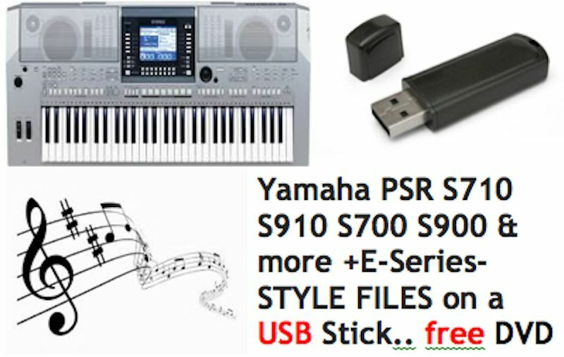yamaha psr s710 s910 s700 s900 e series style files on a. Black Bedroom Furniture Sets. Home Design Ideas