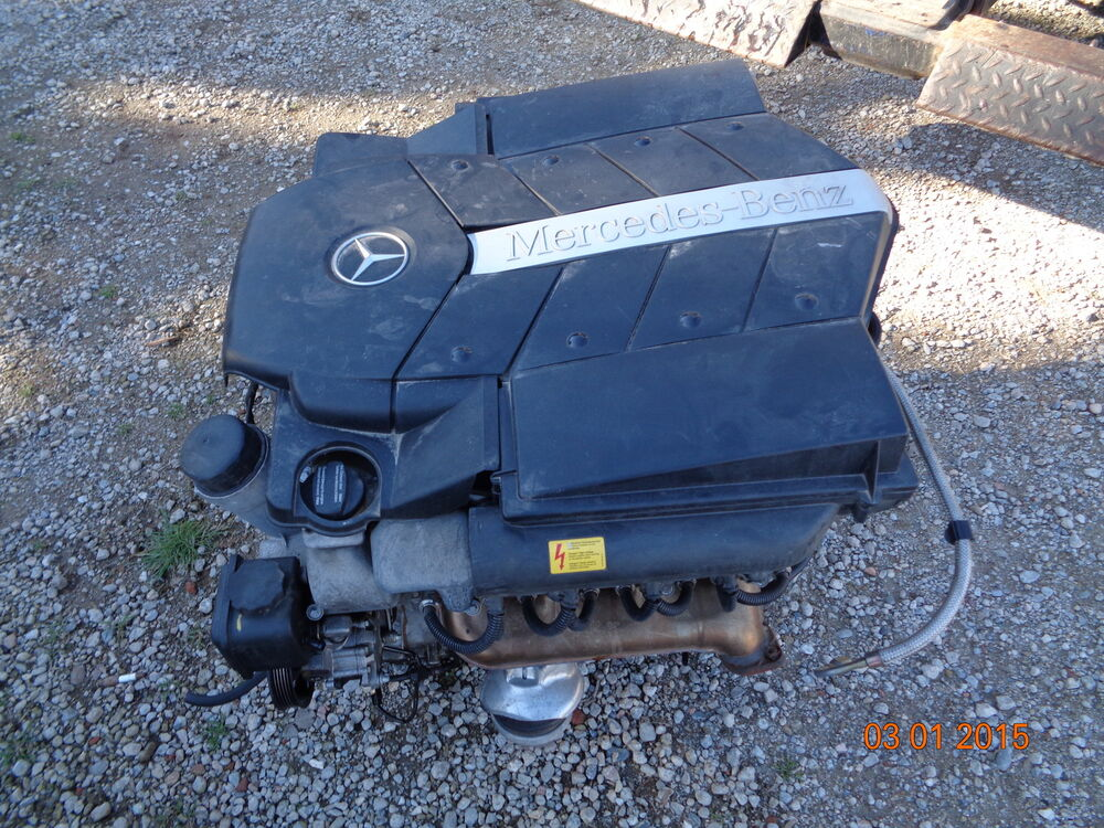 2000 2006 mercedes benz w220 w215 s500 cl500 engine motor for 2000 mercedes benz s500 parts