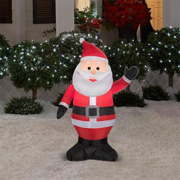Led santa claus christmas inflatable airblown
