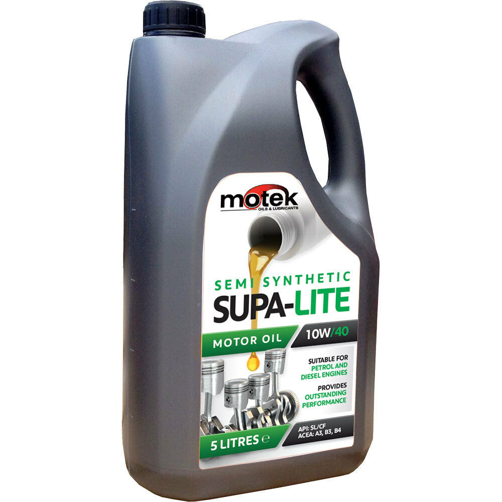 5 litre motek 10w 40 supa lite semi synthetic engine oil ebay. Black Bedroom Furniture Sets. Home Design Ideas