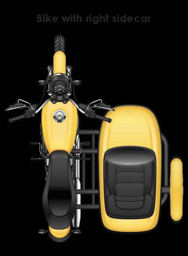Sidecar Right Motorcycle Bluetooth Tire Pressure