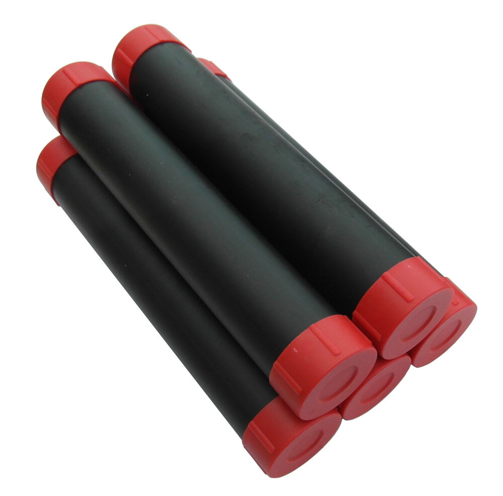Pack of mdi protective plastic float tubes length inch