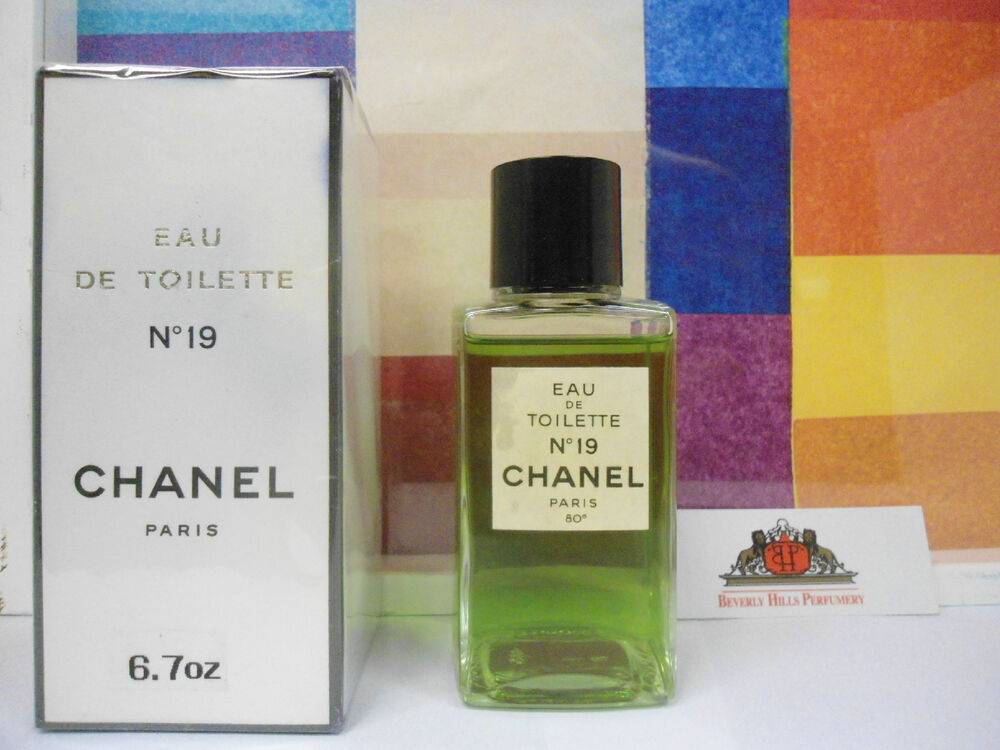 chanel n 19 eau de toilette splash 6 7 oz new in box for women ebay. Black Bedroom Furniture Sets. Home Design Ideas