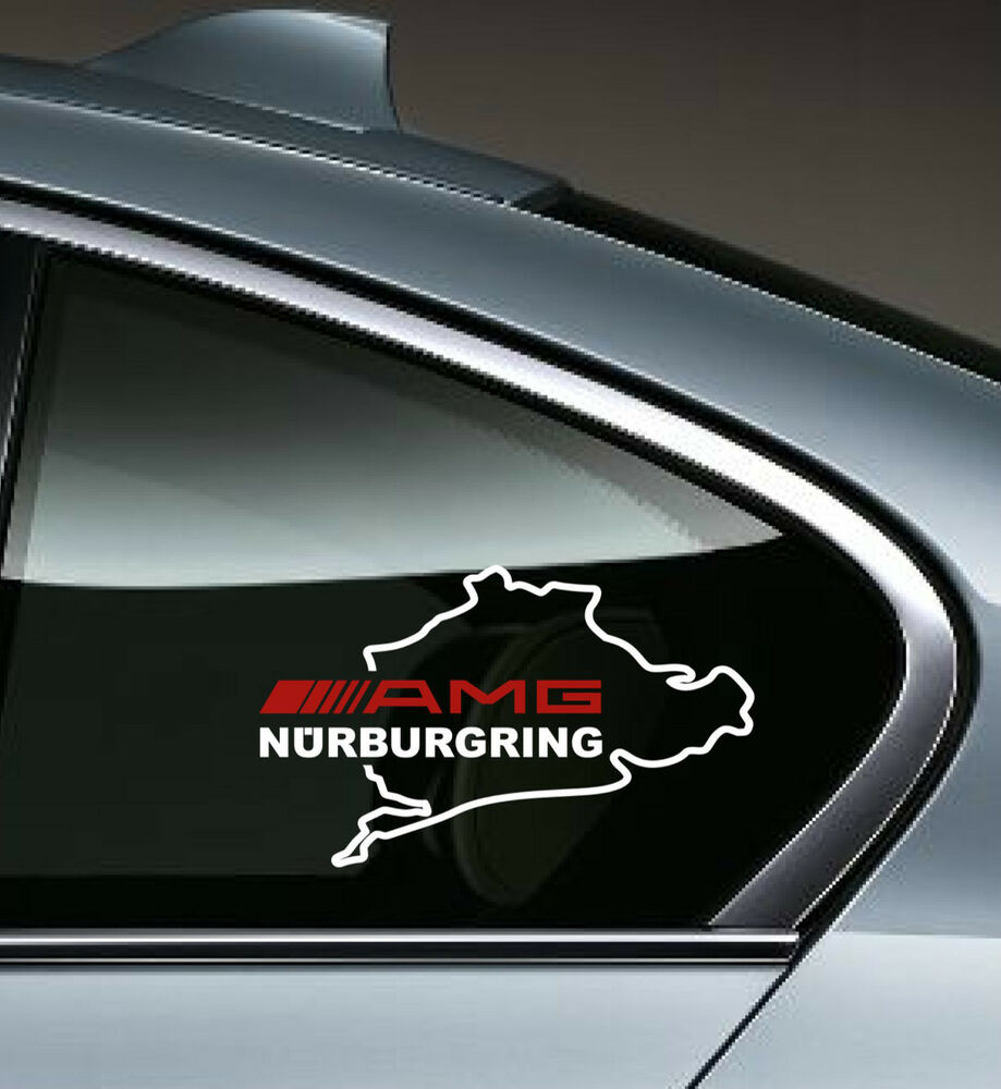 Amg nurburgring mercedes benz c55 clk e55 cls63 e63 decal for Mercedes benz decal