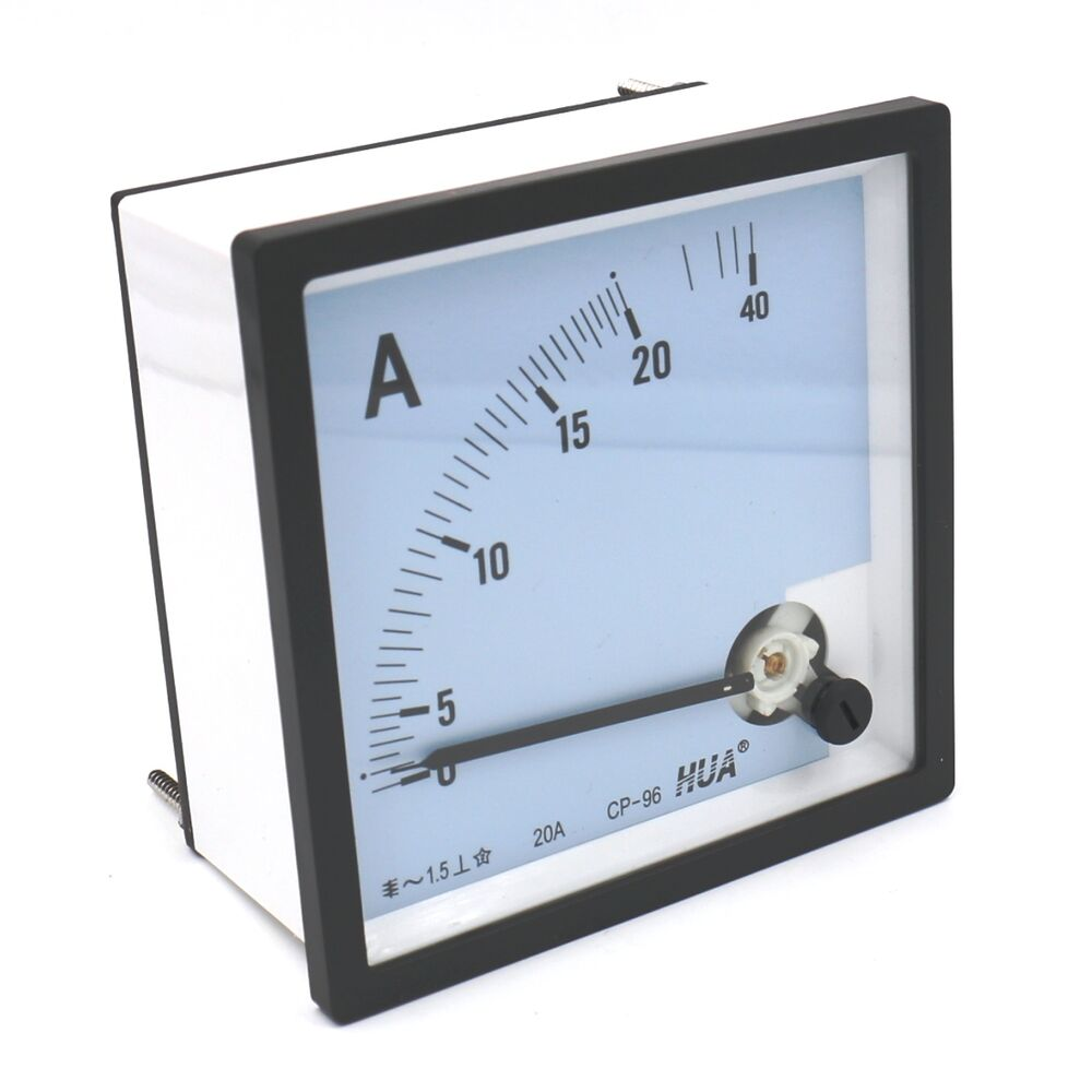 Analog Ac Amp Meter : Class ac a analog current ammeter panel amp meter cp