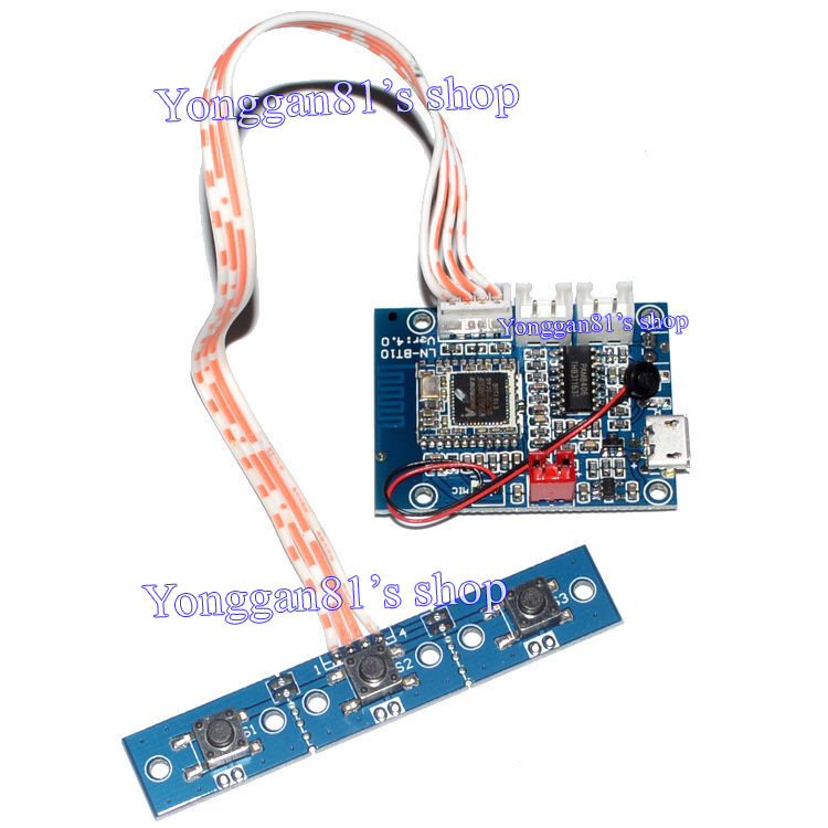 bluetooth 4 1 stereo audio receiver module 5w 5w amplifier board hands free call ebay. Black Bedroom Furniture Sets. Home Design Ideas