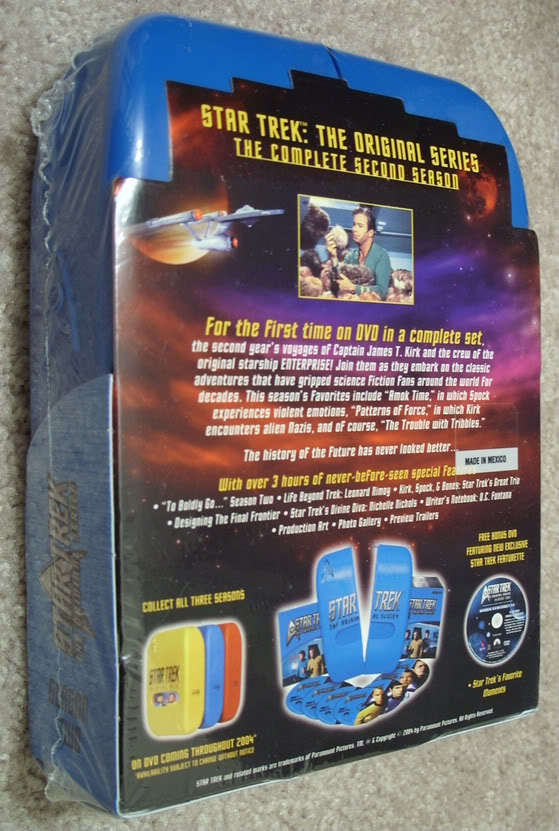 NEW Star Trek The Original Series Season 2 (DVD 2004 ...