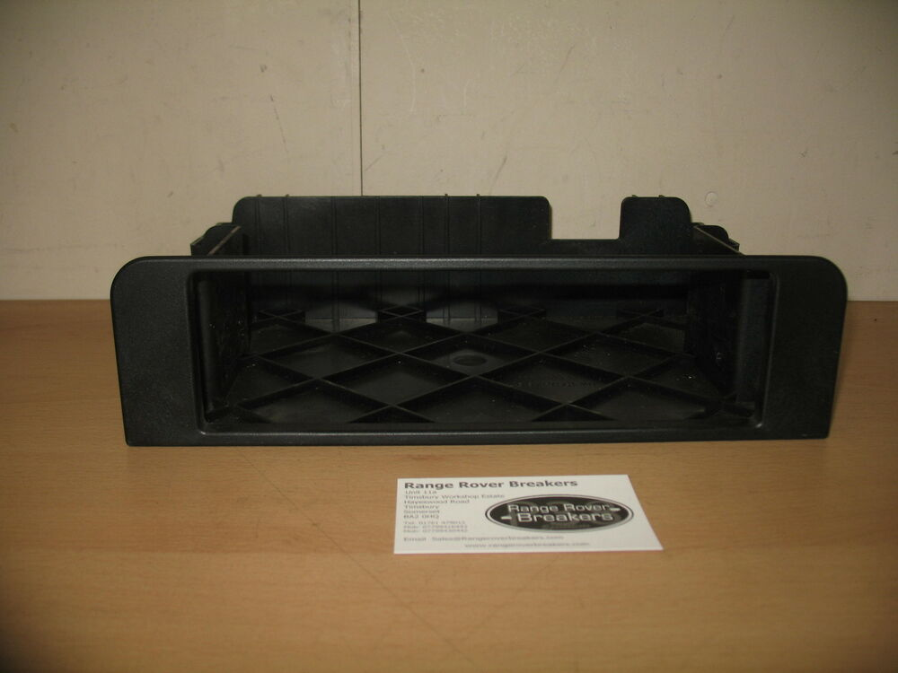 range rover l322 cd changer carrier for 06 fff500010 ebay. Black Bedroom Furniture Sets. Home Design Ideas