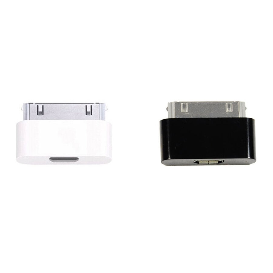 30 pin dock connector to micro usb adapter charger for. Black Bedroom Furniture Sets. Home Design Ideas