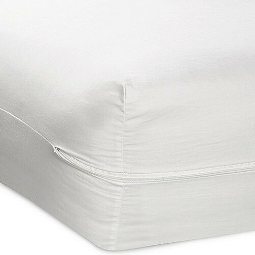 TWIN SIZE FABRIC ZIPPERED MATTRESS COVER BED BUG