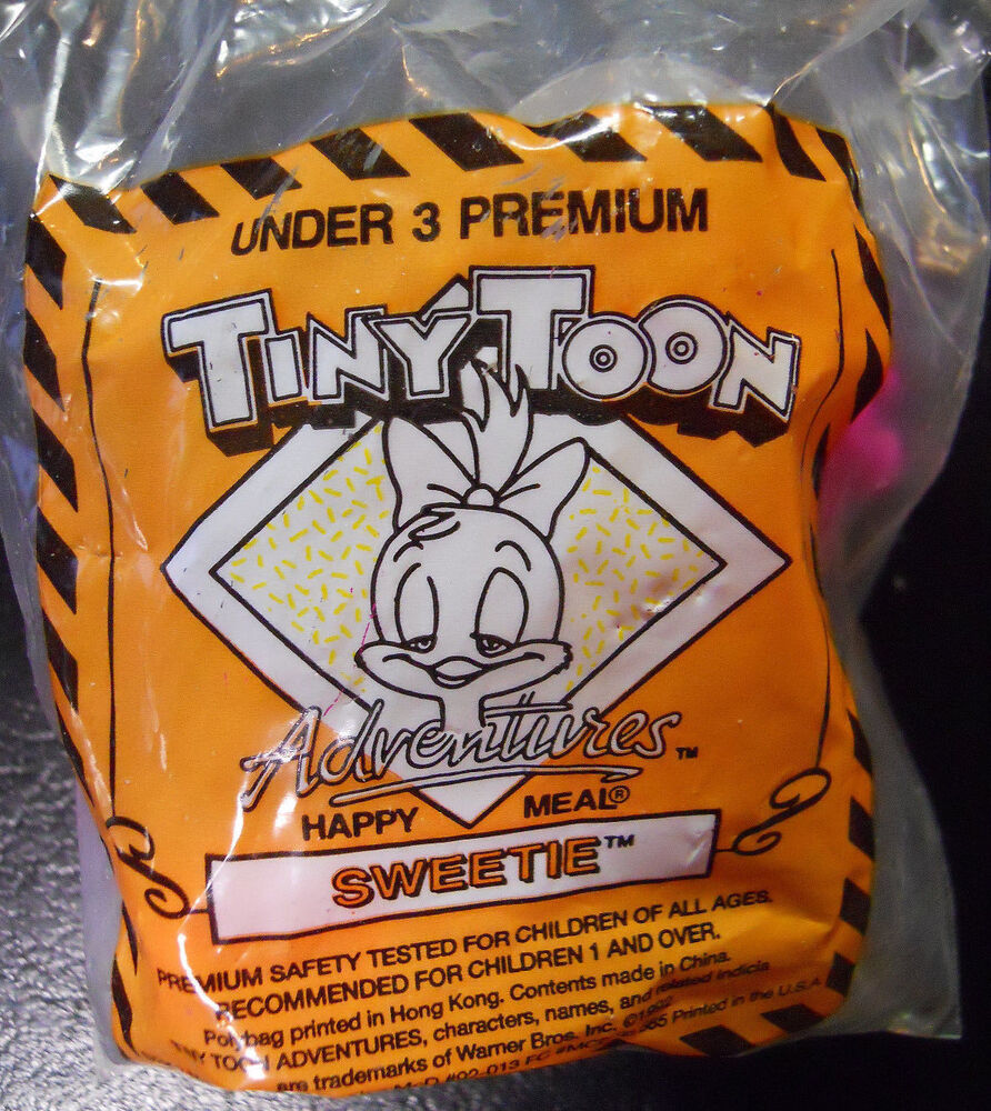 Toys For Under 1 : Vintage mcdonald s happy meal tiny toons under toy