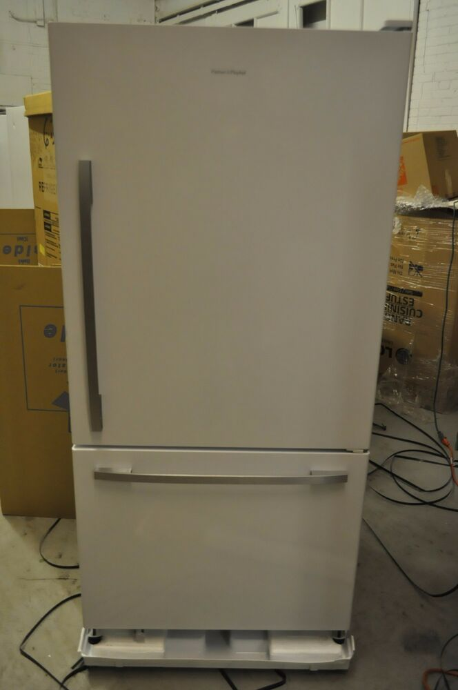 fisher paykel 33 rf175wcrw1 counter depth bottom freezer refrigerator white 37 822843226054 ebay. Black Bedroom Furniture Sets. Home Design Ideas