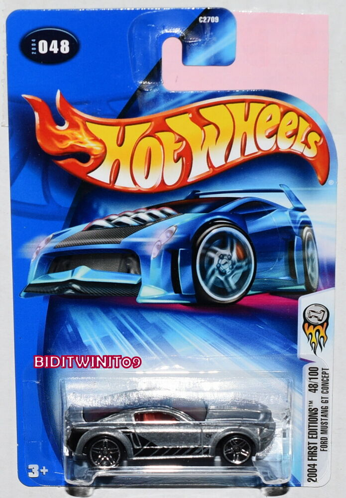 2015 Mustang Wheels >> HOT WHEELS 2004 FIRST EDITIONS FORD MUSTANG GT CONCEPT ZAMAC | eBay