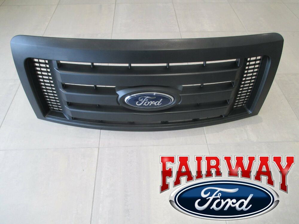 09 thru 14 F-150 OEM Genuine Ford Parts XL Model Black ...