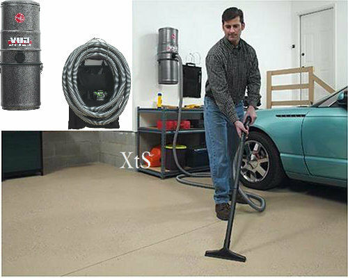 Commercial Wall Vacuum Cleaner Garage Warehouse Detailing