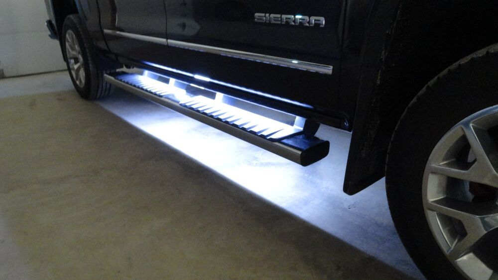 Running Board Side Step Led Lights For Chevy Dodge Gmc