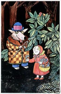 original little red riding hood fairy tale