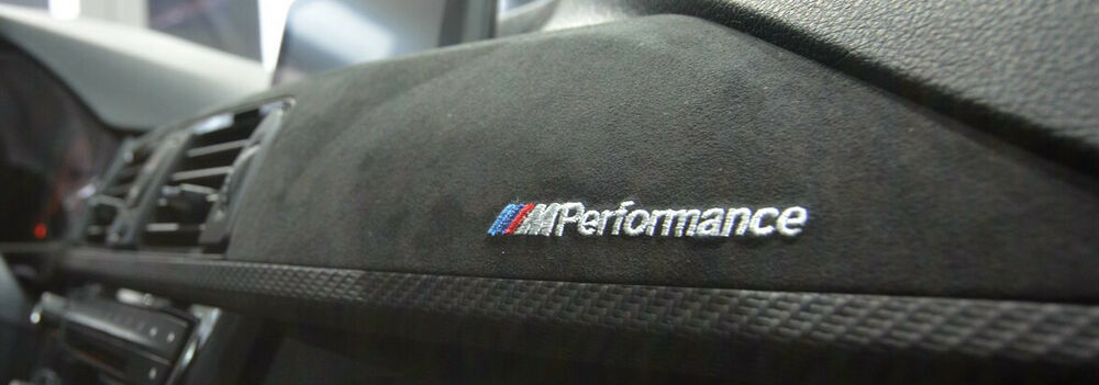 Bmw F30 F31 F34 M Performance Carbon Fiber Alcantara Interior Trim Rhd Version Ebay