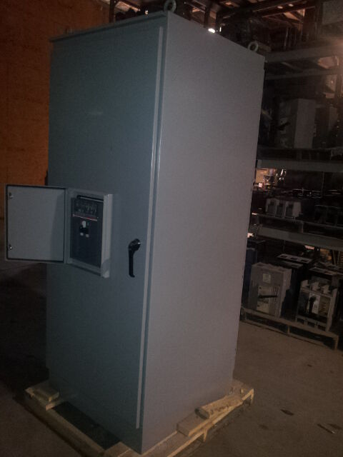 2000 Amp New Abb Breaker Type 3r Service Equipment With