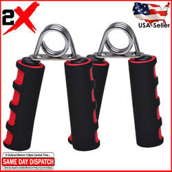 2X Foam Hand Grippers Grip Forearm Heavy Strength Grips Arm Exercise Wrist