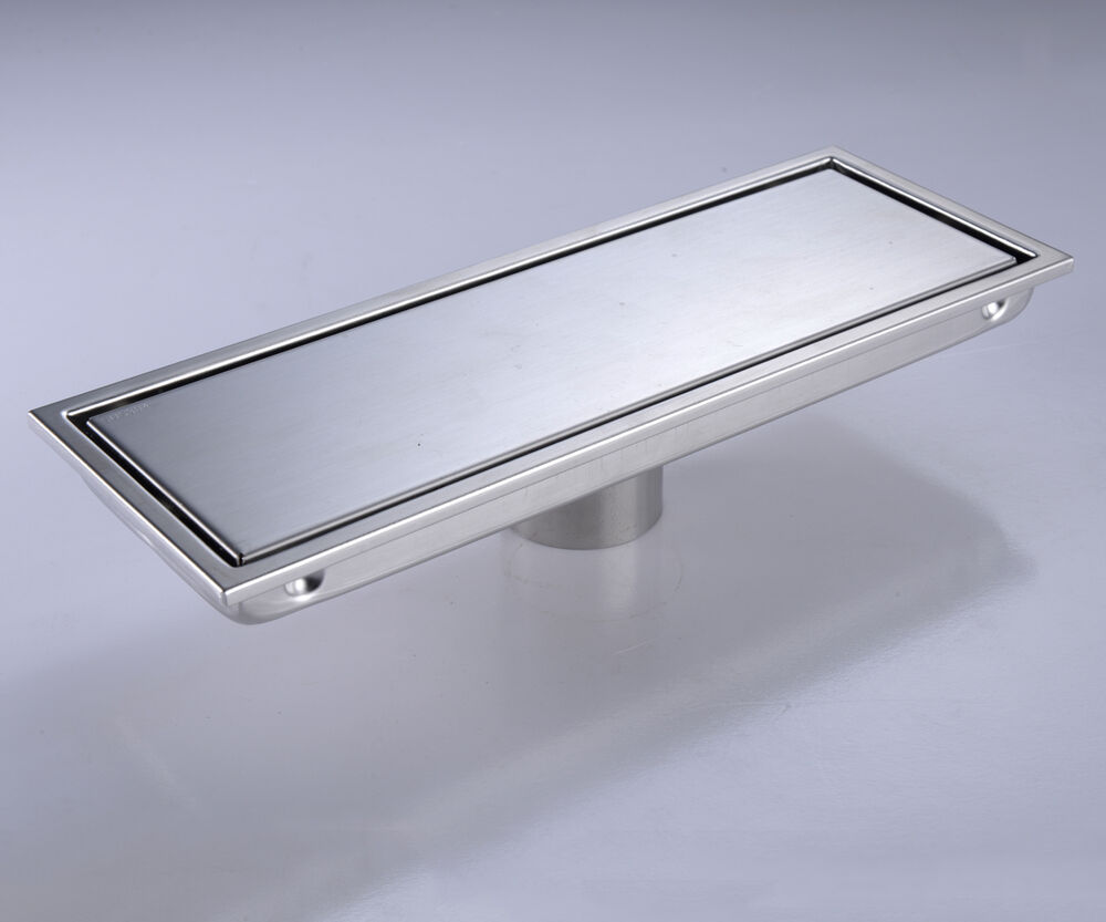 300mm High Flow Stainless Steel Linear Shower Drain